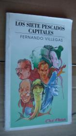 LOS SIETE PESCADOS CAPITALES  西班牙语插绘本 原版 28开