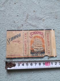 民国老烟标一张