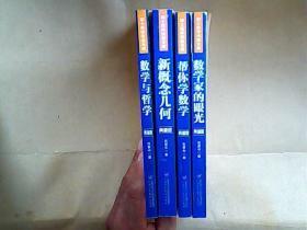 院士数学讲座专辑;数学家的眼光 帮你学数学 新概念几何 数学与哲学,典藏版 4本合售