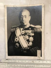 民国抗战时期日本海军大将三本五十六老照片