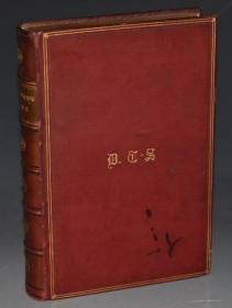 1905年 Adam Lindsay Gordon Poems 《亚当•林赛•戈登诗集》全原粒面小牛皮精装插图本 增补插图 品佳