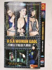美国女子监狱大揭秘(国英双语中英字幕,2碟DVD)