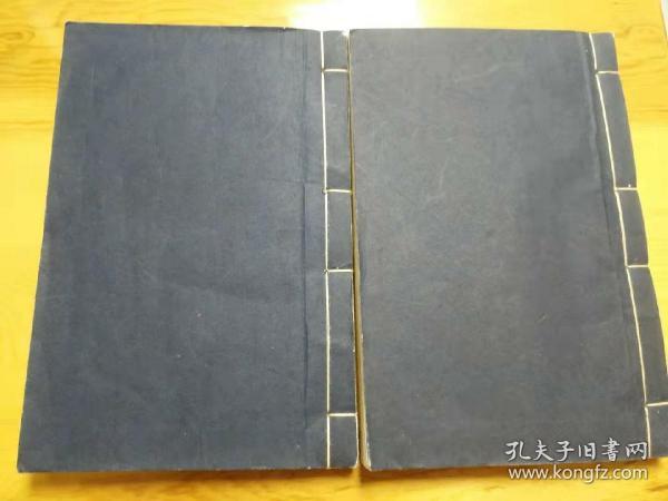 民國手繪拳譜兩冊,存93筒子頁,93幅繪圖,存16-107圖。