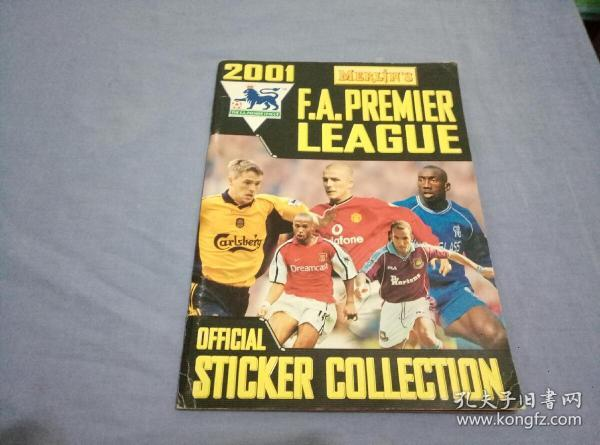 MERLIN PREMIER LEAGUE 2001 complete - amazon.co.uk   16开