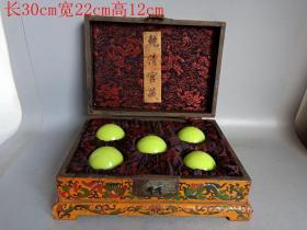 鄉下收的清代乾清宮舊藏漆器盒夜明珠
