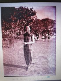 民国人物老底片(胶片)21张(女士身着旗袍、男士衬衫领带)