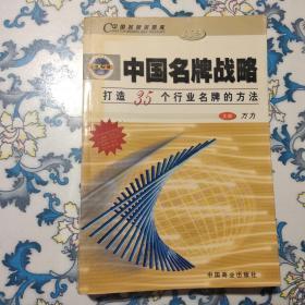 中国名牌战略:打造35个行业名牌的方法