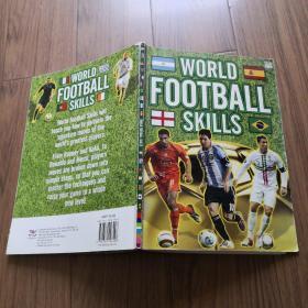 World Football Skills(《世界足球绝技》英文原版 铜版纸彩图本)