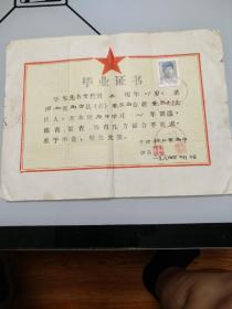 1984年毕业证书