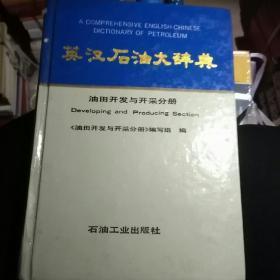 英汉石油大辞典.油田开发与开采分册