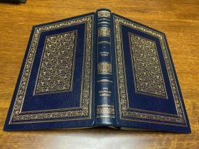 Proteus.    Franklin library真皮精装限量版    书口三面刷金   能保存数百年的存档级别的无酸纸
