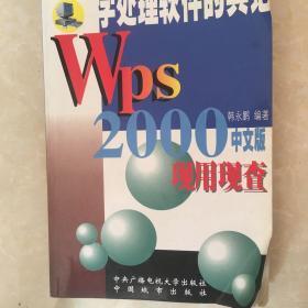 WPS 2000现用现查
