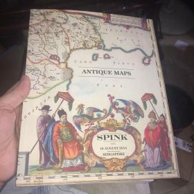 古地图拍卖,spink拍卖公司,200多页