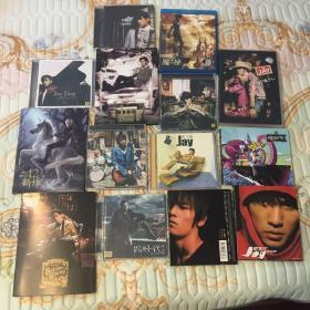 正版全套全新周杰伦专辑CD14张