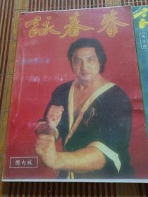 咏春拳(上下)+咏春标指(单)合售