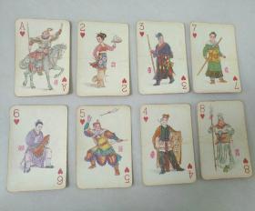 水浒人物扑克  52张