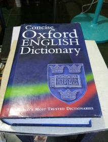 Concise Oxford English Dictionary【简明牛津英语词典】