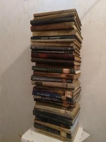 外文工程技术化学方面五六十年左右出版(三十册合售)