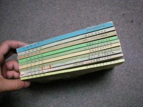 外国文学知识丛书   10册合售