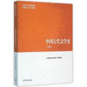 二手中国古代文学史 中册 袁世硕 马工程 高等教育出版社