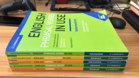 ENGLISH IDIOMS IN USE 【5本合售】