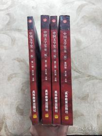 中国文学史 第二版 全四册 袁行霈 高等教育出版社