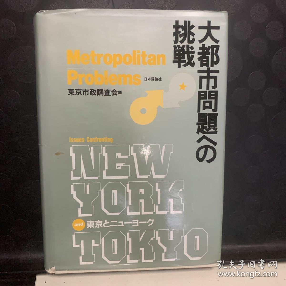 大都市问题的挑战 日文原版