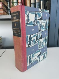 Les Miserables 《悲惨世界》victor hugo雨果名著  Heritage press 1938年 布面精装版  木刻版画家Lynd Ward 配图  1册全5卷 带有一枚漂亮的藏书票