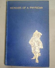 1895年 Alexandre Dumas - Memoirs of A Physician  大仲马经典名著《风雨术士》珍贵早期版本 配补插图 品佳