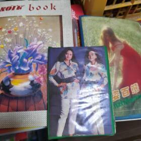 刘德华,郭富城,翁美玲,七龙珠,圣斗士美少女战士等各种珍藏贴纸,老笔记本三本