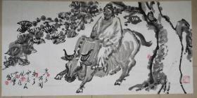 夜中会,1956年生于西安,国家一级美术师,西安美术学院教授。1975年毕业于陕西省艺术学院,1983年毕业于西安美术学院油画系,获学士学位,并留校任教至今。1998年完成美院高研班研究生学业。中国美术艺术家协会陕西分会执行主席,中国国家博物馆画廊特聘书画家、中国草书协会COM中心特聘理事、。