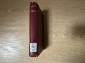(英国版)Thomas Hardy     哈代传,博学诗人写诗人、小说家(哈代对现代诗影响深远),董桥:早年香港大学教授白伦敦Edmund Blunden是英国著名诗人,是研究蓝姆的权威。布面精装毛边本,1941年老版书