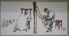 夜中会,1956年生于西安,国家一级美术师,西安美术学院教授。1975年毕业于陕西省艺术学院,1983年毕业于西安美术学院油画系,获学士学位,并留校任教至今。1998年完成美院高研班研究生学业。中国美术艺术家协会陕西分会执行主席,中国国家博物馆画廊特聘书画家、中国草书协会COM中心特聘理事、陕西西安。
