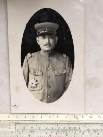 民国20年代日本陆军大将、关东军司令畑英太郎(照片中为中将)老照片