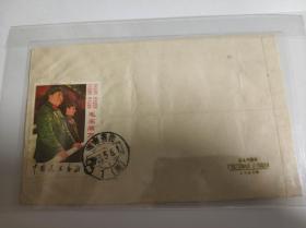 1968年廣西湖南文革郵票實寄封一枚