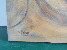 伊贤彬,号:一泓,男,汉族.生于一九六五年九月,福建省宁化县人.天津美术学院现代艺术学院油画高级创作研修班结业。福建省美术家协会会员,中国工笔画学会会员