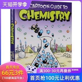 现货英文原版 The Cartoon Guide to Chemistry 爆笑科学漫画 化学妙想 学生读物 漫画化学
