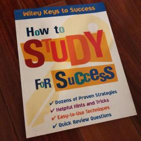 How to Study for Success[如何成功学习]