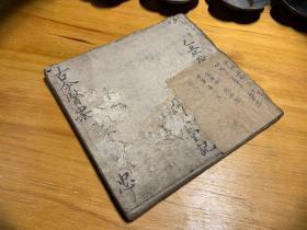 1925年,民国老中医药铺,手写书法老药方一本