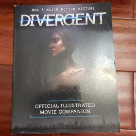 Divergent official illustrated movie companion分歧者官方电影画册 电影手册 电影拍摄花絮