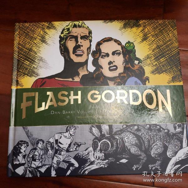 Flash gordon dailies dan barry volume 1 the city of ice高登漫画 漫威宇宙 超人 蜘蛛侠相关