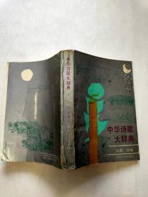 中华诗歌大辞典 (上册)