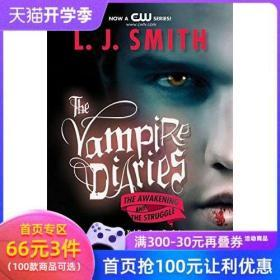 英文原版 吸血鬼日记: 觉醒和挣扎 The Vampire Diaries :The Awakening and the Struggle 吸血鬼日记 1-2 进口小说 正版