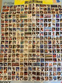 体坛周报全体育2004年雅典奥运会金牌榜珍藏海报