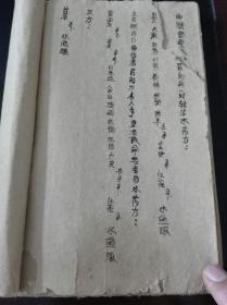 手抄本跌打损伤点穴秘方药方书,26筒子页,52面。