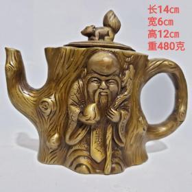 松桩寿星壶