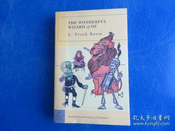 The Wonderful Wizard of Oz (Barnes & Noble Classics Series)绿野仙踪/奥茨国的魔术师