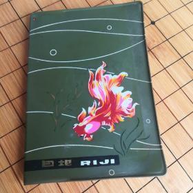 金鱼日记 革命圣地彩图纪念本 没有使用过