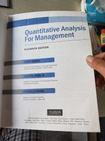 QuantitativeAnalysisforManagement