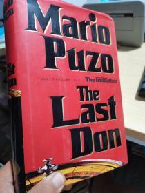 Mario puzo the last don【英文版】精装